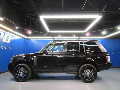 Land Rover : Range Rover HSE 4WD Land Rover Range Rover HSE AWD 22inch Wheels Cam Heated Seats Navigation