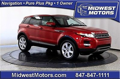 Land Rover : Range Rover Pure Plus 2013 land rover range rover evoque pure plus heated seats nav 1 owner pano roof