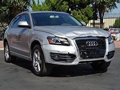 Audi : Q5 3.2 Quattro Premium 2010 audi q 5 quattro premium plus damaged rebuilder loaded priced to sell l k