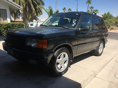 Land Rover : Range Rover Callaway--Number 15 out of 220 1999 land rover range rover hse 4.6 rare callaway edition 15 of 220 sold in us