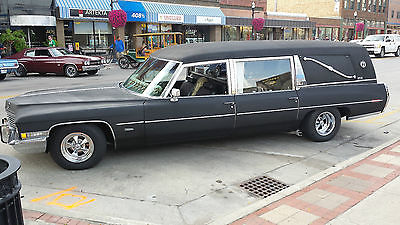 Cadillac : Fleetwood skulls and kool shyt 1972 miller meteor 3 way cadillac hearse ready for halloween car of death loaded