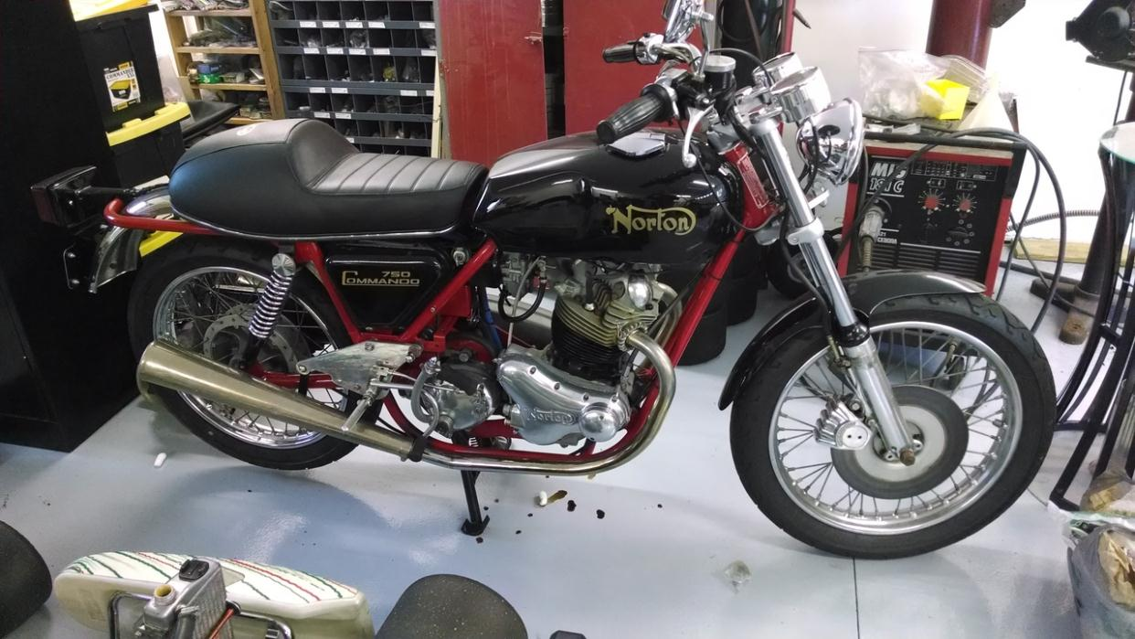 2015 Norton Commando