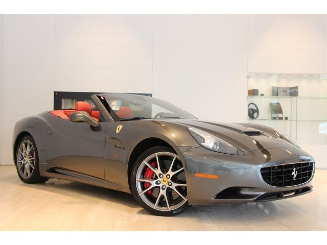 Ferrari : California Base Convertible 2-Door -AFS, CRUISE, DAYTONAS, SHIELDS, EXT LEATHER, 1-OWNER,  ELEC SEATS, MORE!