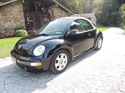 Volkswagen : Beetle-New GLS Convertible 2-Door 2003 volkswagon convertable new beetle 2.0 all power