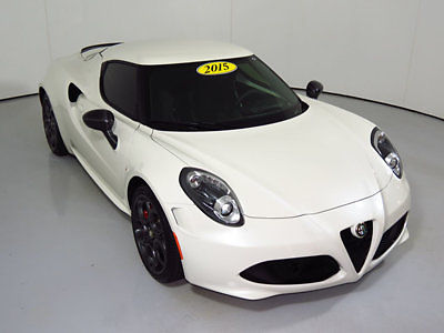 Alfa Romeo : Other 2dr Coupe Launch Edition 2015 alfa romeo 4 c low miles