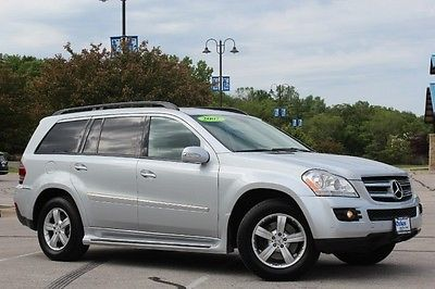 Mercedes-Benz : GL-Class GL450 2007 silver exterior black leather interior awd navi dvd pkg nice