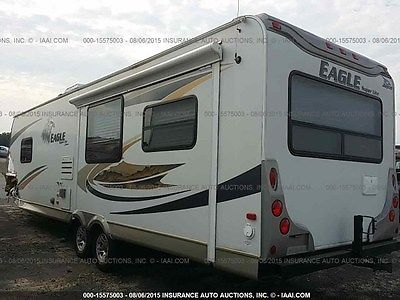 2009 JAYCO EAGLE SUPER LITE; FOR SALE CHEAP, BEST PRICE, SALVAGE TITLE