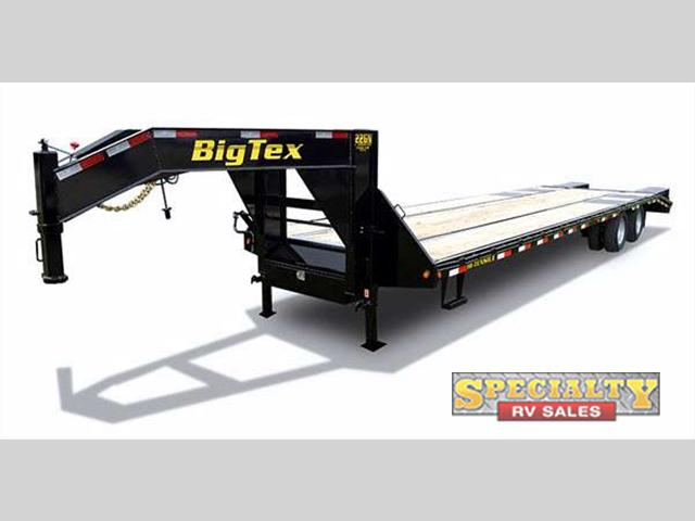 2015 Big Tex Trailers Gooseneck Pintle Trailers 22GN HD