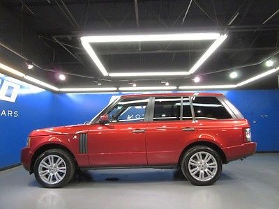 Land Rover : Range Rover HSE LUX Land Rover Range Rover HSE Luxury AWD Cooled Heated Seats Nav Cam Xenon