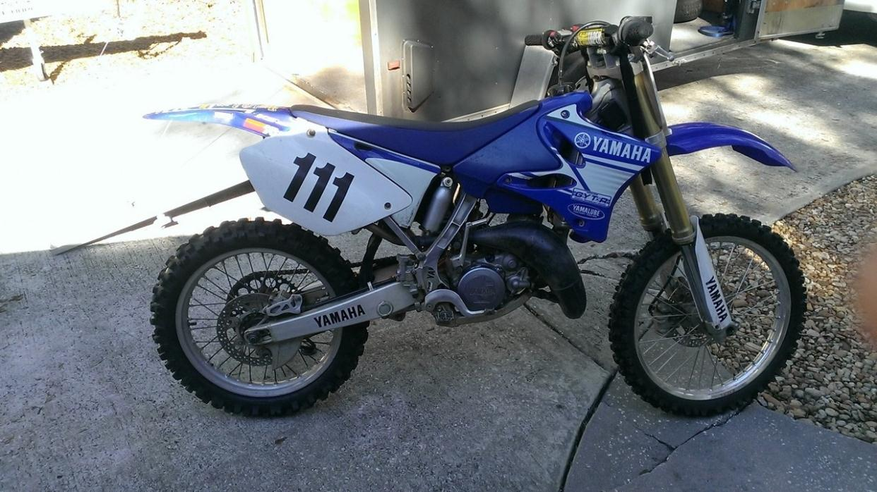 1995 yamaha yz 125 motorcycles for sale for 1995 yamaha yz250 for sale
