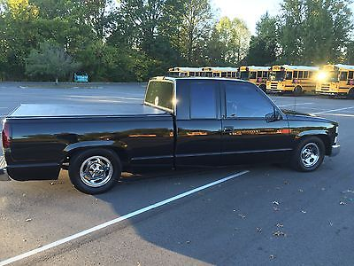 Chevrolet : C/K Pickup 1500 c1500 1994 chevy c 1500 extended cab truck custom and lowered