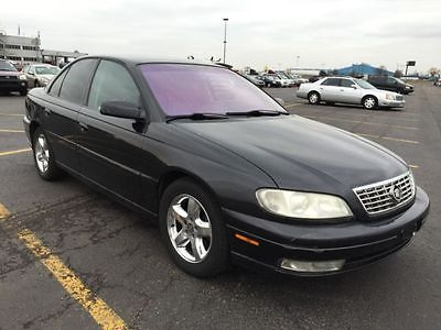 Cadillac : Catera 4 dr sedan 2001 black cadillac catera in very good condition
