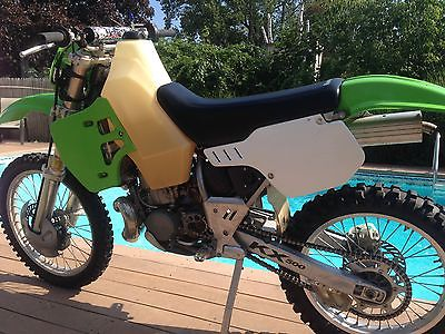 Kawasaki : KX 2003 kx 500 with ny street title