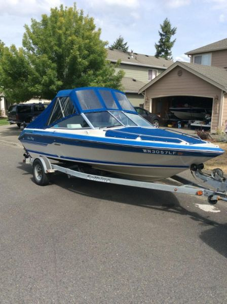 1988 Sea Ray Seville 18ft puget sound boat