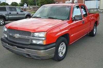 Chevrolet : Silverado 1500 2003 chevy silverado pickup truck v 8 extended cab auto low miles