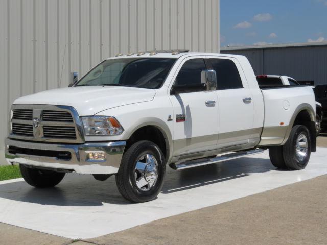 Dodge : Ram 3500 Diesel 4x4 10 ram 3500 laramie mega 6.7 l cummins navi sunroof 1 owner xds 25 records tx