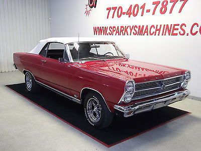 Ford : Fairlane 2 Door 500 Convertible 1966 ford fairlane 500 convertible