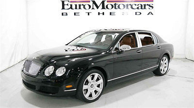 Bentley : Continental Flying Spur 2006 BENTLEY CONTINENTSL FLYING SPUR BLACK BENTLEY CONTINENTAL FLYING SPUR BLACK NAVIGATION SUNROOF FINANCING 2006 06 BEST