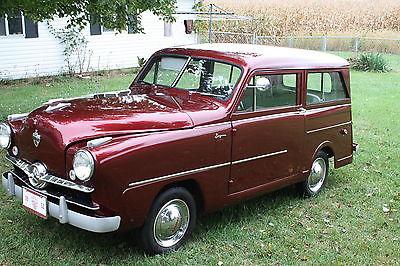 Other Makes : Crosley 3 Door Sedan - Side Open Rear Door Super 1952 crosley rare side open rear door