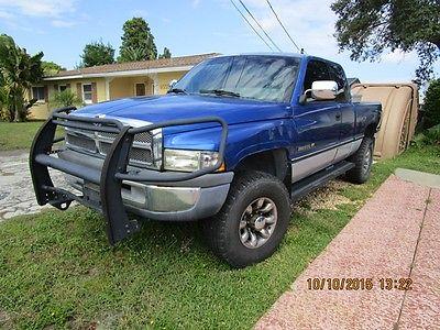 Dodge : Ram 2500 SLT 1996 dodge ram 2500 extra cab 4 x 4 used