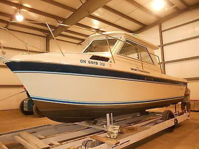 RARE Cherokee Sport Hardtop Boat fishing 454cid/330hp Chevy/Volvo Penta