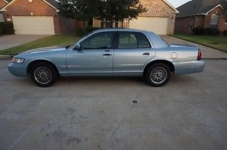 Mercury : Grand Marquis GS 2001 gs 46 k original miles one owner clean carfax power seat one of a kind
