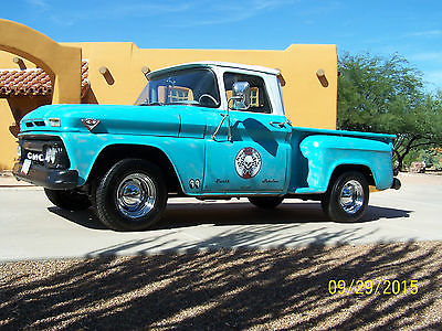 Chevrolet : Other Pickups 1963 gmc 1 2 ton step side pickup not chevrolet ford dodge
