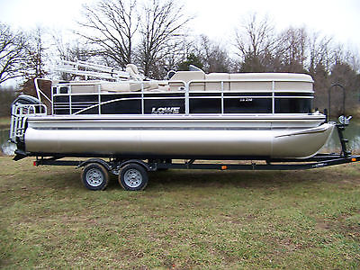 LOWE SS210 TRITOON WITH MERCURY 115 COMMAND THRUST 4S AND TRAILER