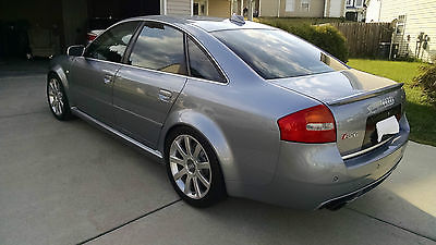 Audi : RS6 Beautiful silver grey 2003 Audi RS6 v8 twin turbo all wheel drive