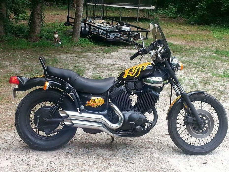 1987 yamaha virago 535 motorcycles for sale. Black Bedroom Furniture Sets. Home Design Ideas