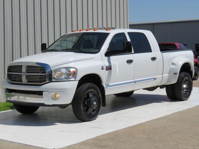 Dodge : Ram 3500 Diesel 4x4 09 ram 3500 laramie mega 6.7 l cummins 6 spd at 4 x 4 rockstars 1 owner carfax tx