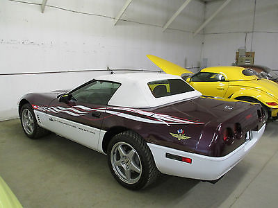 Chevrolet : Corvette Indianapolis 500 Pace Car Convertible 2-Door 1995 corvette indy pace car only 1546 miles like new