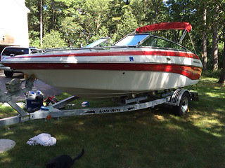 2004 19ft Crownline 192BR Excellent condition--