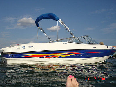 2007 Bayliner 205 Runabout Boat 5.0 Merc eng  & 2013 motor w warranty + trailer