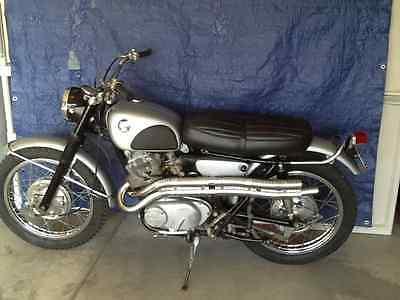 Honda : CL 1967 honda cl 77 305 scrambler