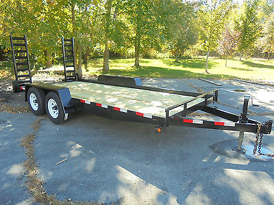 New 82x16 10K Equipment Car Landscape Tractor Bobcat Utility Trailer