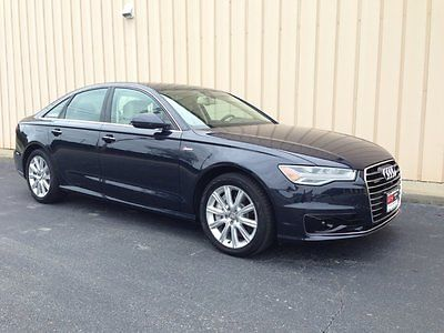 Audi : A6 PREMIUM 3.0T Turbo Supercharged 2016 audi a 6 3.0 turbo premium only 600 miles brand new heads up bang olufsen