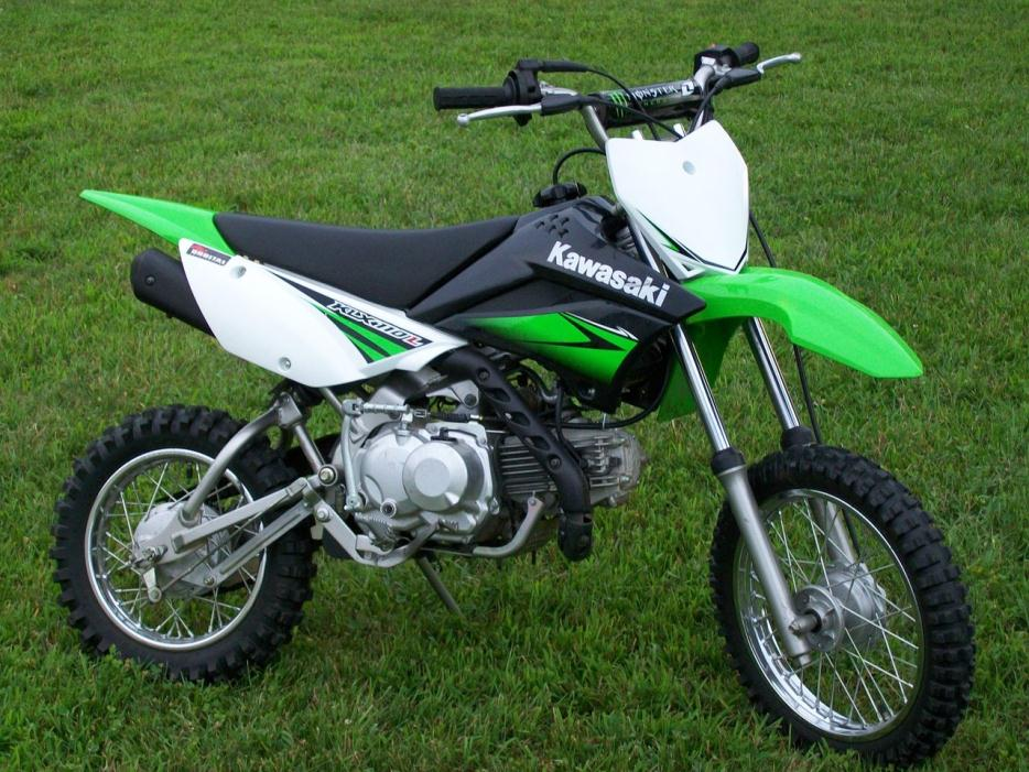 kawasaki klx 110l motorcycles for sale in galion ohio. Black Bedroom Furniture Sets. Home Design Ideas