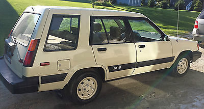 Toyota : Tercel SR5 4WD 1985 toyota tercel sr 5 wagon 4 door 1.5 l