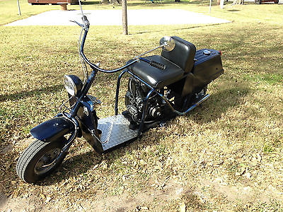 Cushman : Highlander vintage CUSHMAN HIGHLANDER 1958 Scooter Motorcycle In Running Condition w/ TITLE