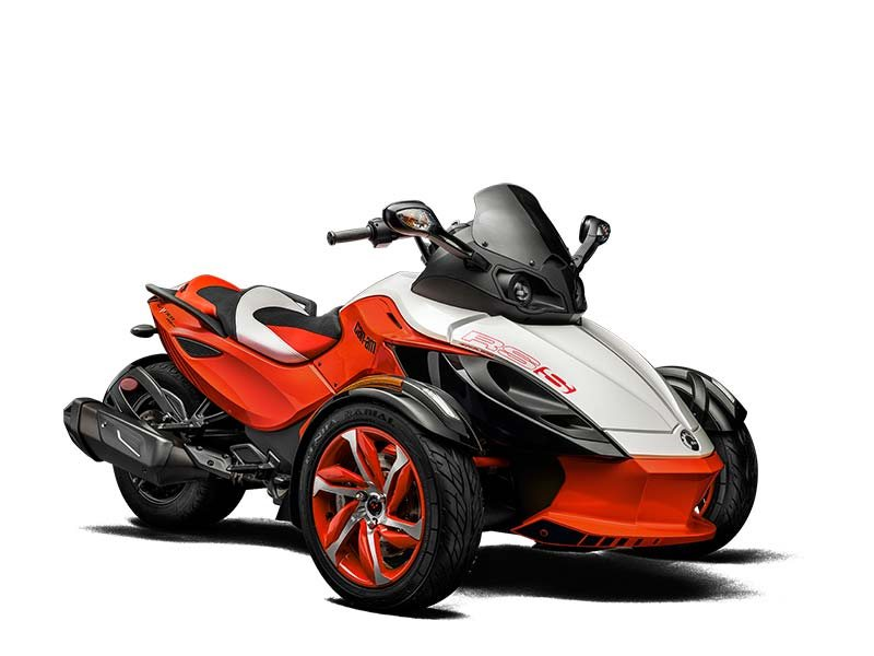 can am spyder rs s special edition motorcycles for sale. Black Bedroom Furniture Sets. Home Design Ideas