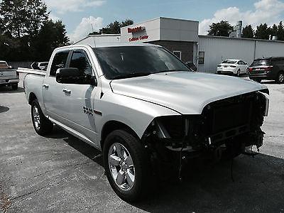 Ram : 1500 Big Horn Crew Cab Pickup 4-Door 2014 ram 1500 4 x 4 ecodiesel