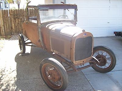 Ford : Model A Henry Ford 1928 ford model a sport coupe roller banger hot rod rat rod street rod av 8 v 8