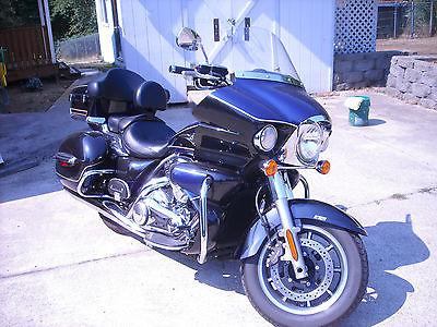 Kawasaki : Vulcan 2013 kawasaki vulcan voyager touring cycle abs black blue clean 10500 miles