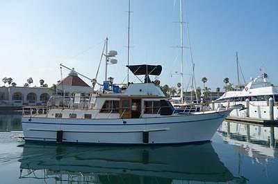 DeFever 41 Trawler Yacht