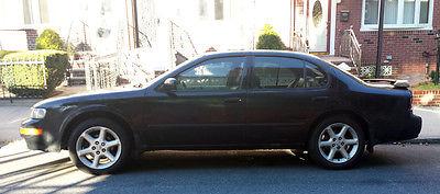 Nissan : Maxima SE 1998 nissan maxima se black leather auto 103 k miles new tailights shocks