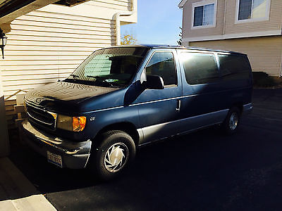 Ford : E-Series Van XLT 1997 van very reliable tons of space seats 8 great work truck
