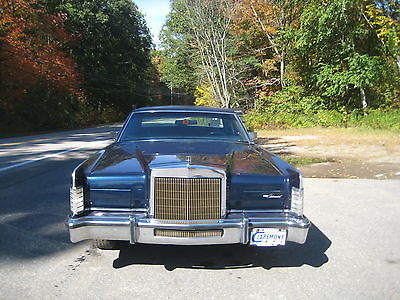 Lincoln : Continental 1979 lincoln continental
