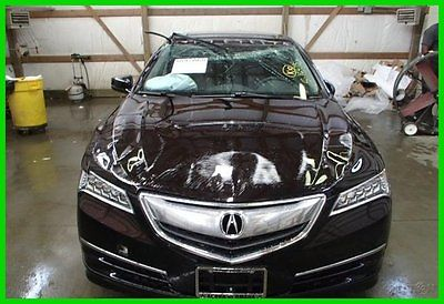 Acura : TLX Technology Edition 2015 tech new 2.4 l i 4 16 v automatic fwd sedan premium for sale cheap
