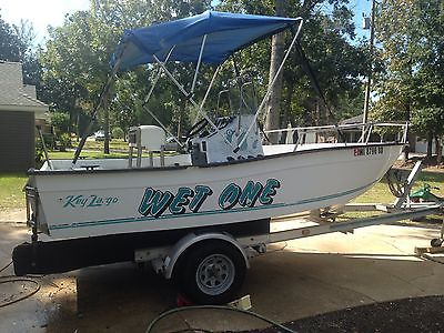 16ft Key Largo Center Console Boat with Aluminum Trailer